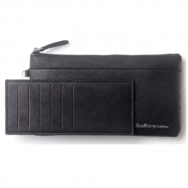 image of Baellerry C1288 Large Zip Vintage Long Wallet Women Purse