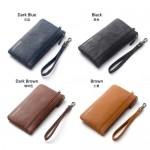 Baellerry C1288 Large Zip Vintage Long Wallet Women Purse