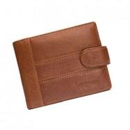 image of 4GL BAELLERRY Leather Wallet Men Short Wallet Dompet 208-PA21