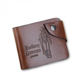 image of 4GL BAELLERRY Men Women Wallet Short Purse Leather D0239