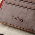 4GL BAELLERRY Men Women Wallet Short Purse Leather D0239