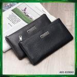4GL Baellerry 66043 Leather Slim Men Wallet Long Wallet Purse