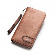 image of 4GL Baellerry Premium Leather long Wallet Purse S1514