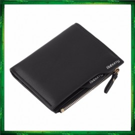 image of Baborry QB-02 Men Zipper Wallets With Card Cash holder And Coin Purse
