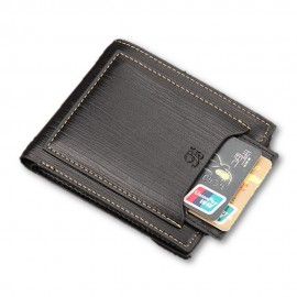 image of 4GL BAELLERRY Men Short Wallet Wallets Leather Purse Dompet D2361