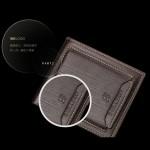 4GL BAELLERRY Men Short Wallet Wallets Leather Purse Dompet D2361