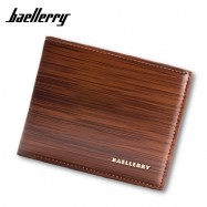 image of 4GL BAELLERRY Minimalist Men Short Wallet Leather Purse Dompet DR005