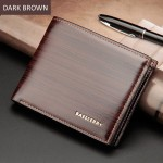 4GL BAELLERRY Minimalist Men Short Wallet Leather Purse Dompet DR005