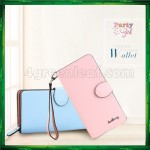 4GL Baellerry Handphone Purse Long Design Zip Wallet Wristlet 13845-3