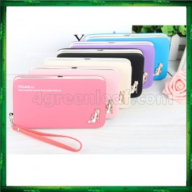 image of 4GL Pidanlu Zip Women Purse Wallet Dompet Bag Beg Bags N1311