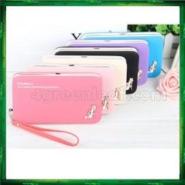 image of 4GL Pidanlu Zip Women Purse Wallet Dompet Bag Beg Bags N1311