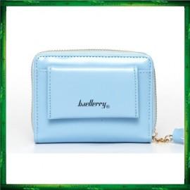 image of 4GL Baellerry Women Short Wallets PU Leather Zipper Coin Pocket Purse P998-2
