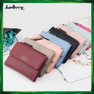 image of 4GL Baellerry Women Wallet Short Purse Leather N2348