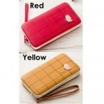4GL Pidanlu Butterfly Wallet Women Candy Color Short Wallet Purse Bag N2313