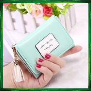 image of 4GL Korean Fashion Women Short Purse Wallet HFY