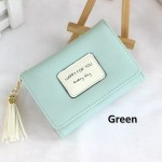 4GL Korean Fashion Women Short Purse Wallet HFY