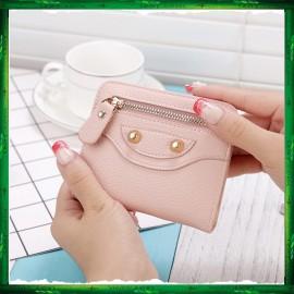 image of 4GL Korean Fashion Cute Women Short Purse Wallet X102