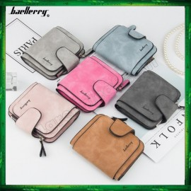 image of 4GL Baellerry Women Purse Short Zipper Wallet Wristlet N2346