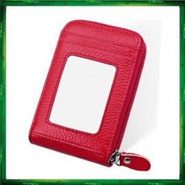 image of 4GL PU Leather Unisex Card Holder Wallet Women Bag KB09