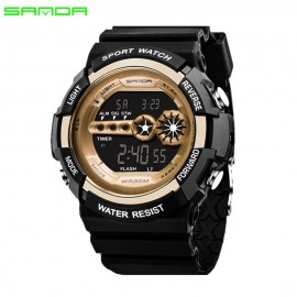 image of 4GL Sanda Men Women Water Resistant Digital Sport Watch Jam Tangan 320