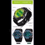4GL Sanda Men Women Water Resistant Digital Sport Watch Jam Tangan 320