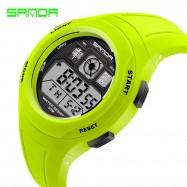image of 4GL SANDA Water Resistant LED Sports Watch Jam Tangan 331