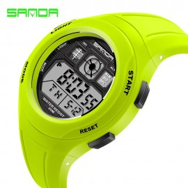 image of 4GL SANDA Water Resistant LED Sports Watch Jam Tangan 331