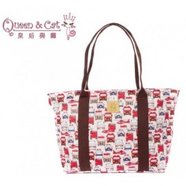 image of Queen And Cat Waterproof Large Shoulder Bag