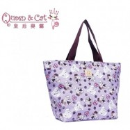 image of Queen And Cat Waterproof Travel Bag