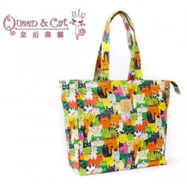 image of Queen And Cat Waterproof Large Bag