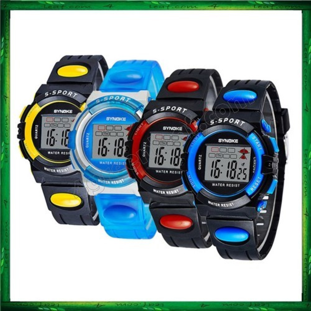 Synoke 932 Unisex Men Women Water Resistant Digital Sport Watch Watches