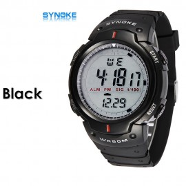 image of 4GL Synoke 61576 Fashion Men Sport Watches LED Digital Watch Jam Tangan