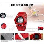 Synoke 001 Unisex Men Women Water Resistant Digital Sport Watch Watches