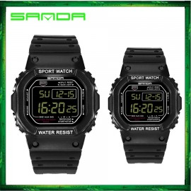 image of Sanda 329 Men LED Digital Sport Watch Jam Tangan