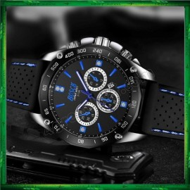 image of BOSCK Sport Silicone Men Women Watch 3136