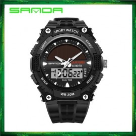image of Sanda 719 Dual Display Sport Military LED Digital Watch