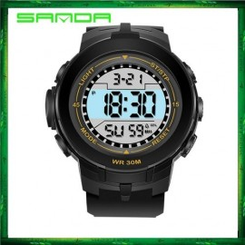 image of Sanda 340 Multifunctional Sport Digital LED Watch