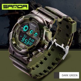 image of 4GL Sanda Camouflage Waterproof Digital Sport Watch Jam Tangan 289