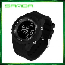 image of Sanda 370 Casual Men Sport Waterproof Counter Shock Wristwatch