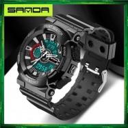 image of Sanda 799 Military Waterproof Outdoor Sport Mens Shockproof Digital Watch