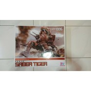 image of BT ZOIDS RED SABER TIGER 1/72