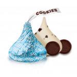 Chocolate HERSHEYS Kisses Cookies 'n' Creme 1 Piece Coklat