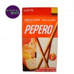 Chocolate LOTTE PEPERO Cheese Cream Filled Box 39 / 312 g Coklat