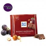 Chocolate Ritter SPORT Raisins Hazelnuts Chocolate Bar 100g Coklat