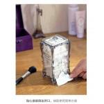 化妆棉复古收纳盒