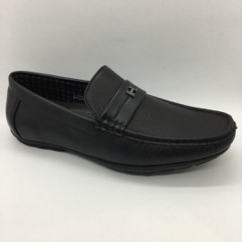 image of Men Shoes Black Colour Business Casual Loafers Slip On. ZORO