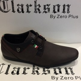 image of Men's Casual Lifestyles Shoes Coffee. JEFF