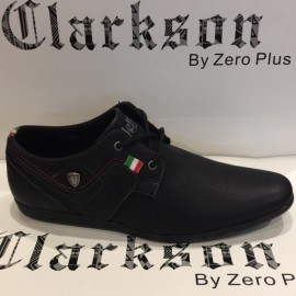 image of Men's Casual Lifestyles Shoes Black. JEFF