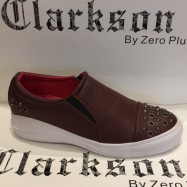image of Men's Fashion Studs Shoes Red . JEFF