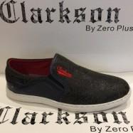 image of Men Shoes Khaki Brown Color Casual Lifestyles Slip on Textile Shoes. CLARKSON